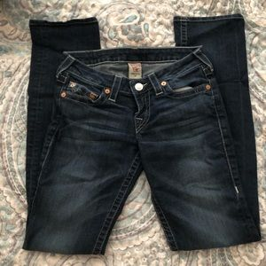 True Religion 27 Straight Jeans